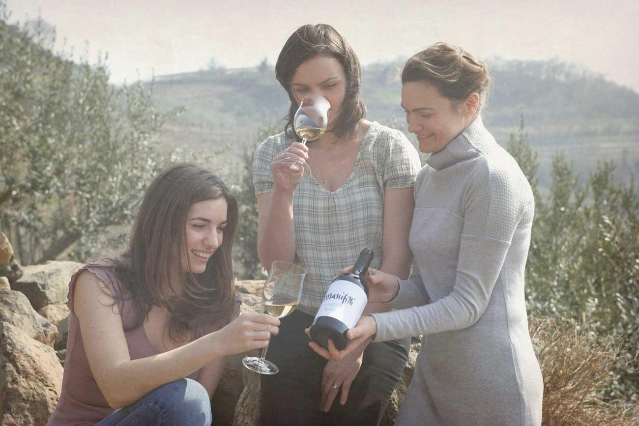 Alte Weinkarte von Soave